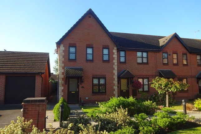 Thumbnail End terrace house to rent in Penhow Mews, Celtic Horizons, Newport