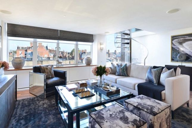 Thumbnail Penthouse to rent in Young Street, London
