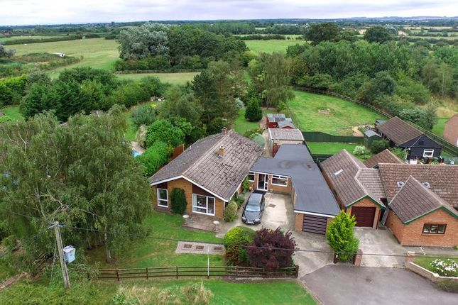 Thumbnail Detached bungalow for sale in Johnstones, Goosey, Faringdon