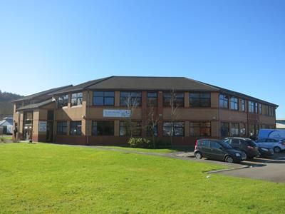 Thumbnail Office to let in The Octagon, Caerphilly Business Park, Caerphilly