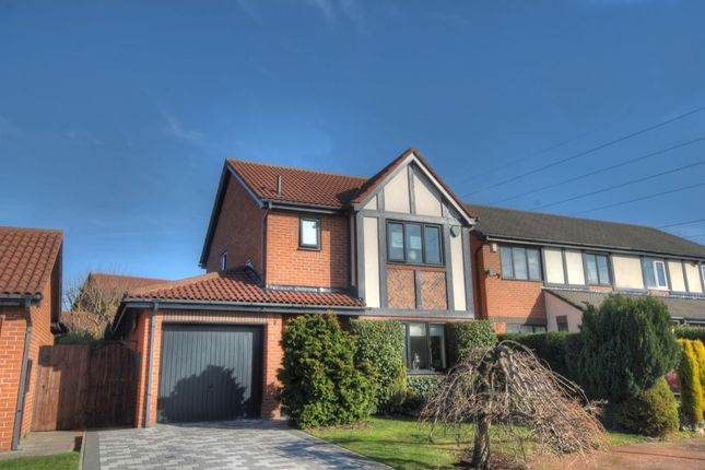Thumbnail Detached house to rent in Queensbury Drive, North Walbottle, Newcastle Upon Tyne