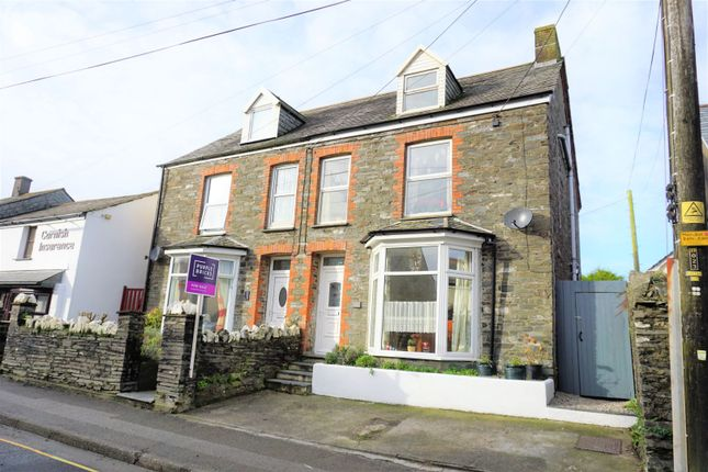 4 bed property for sale in High Street, Delabole PL33
