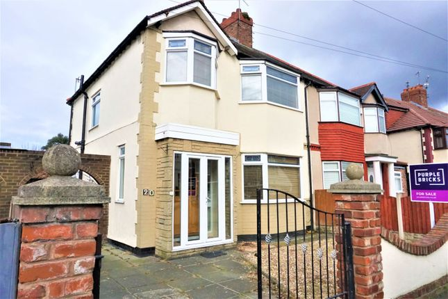 Thumbnail Semi-detached house for sale in Norwood Avenue, Liverpool