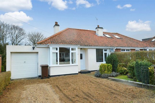 Thumbnail Semi-detached bungalow for sale in Hastings Avenue, Hellesdon, Norwich