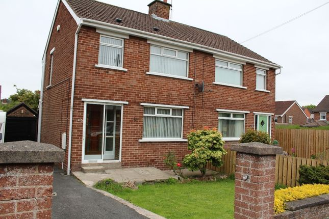 Thumbnail Semi-detached house to rent in South Sperrin, Belfast