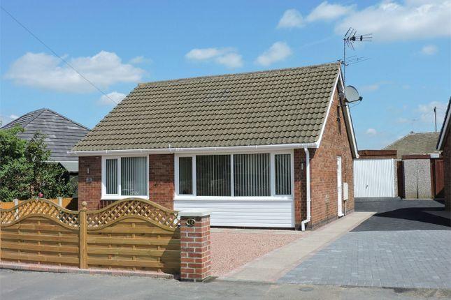 Thumbnail Detached bungalow for sale in Peak Avenue, Riddings, Alfreton, Derbyshire
