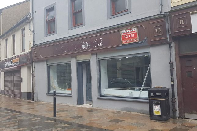 Thumbnail Retail premises to let in Countess Street, Saltcoats