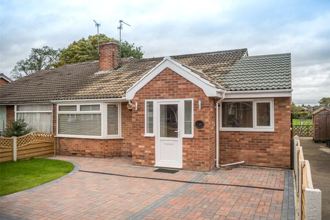 Thumbnail Semi-detached bungalow for sale in Eastfield Crescent, York