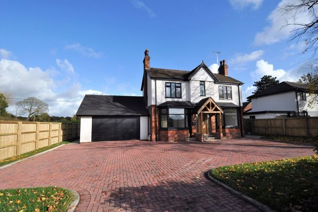 Thumbnail Detached house for sale in Newcastle Road, Arclid, Nr Sandbach