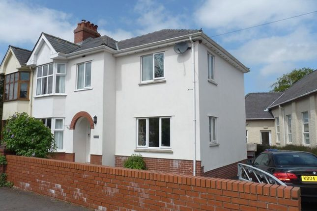 Thumbnail Semi-detached house to rent in Cray, Brecon