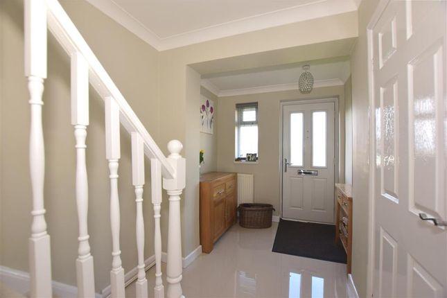 Hallway of Rochester Crescent, Hoo, Rochester, Kent ME3