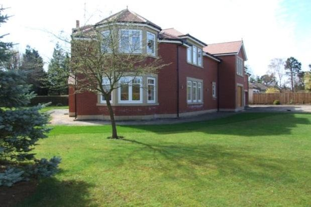 Thumbnail Detached house to rent in Middle Drive, Darras Hall, Ponteland