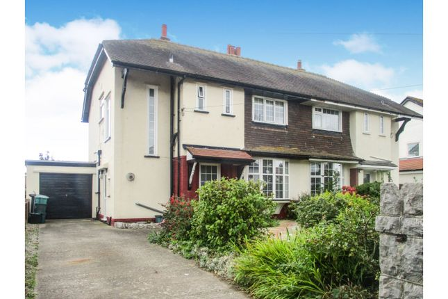 Thumbnail Semi-detached house for sale in Pendorlan Road, Penrhyn Bay
