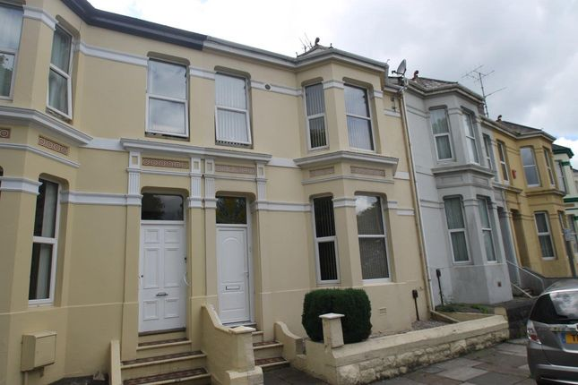 Thumbnail Terraced house to rent in Egerton Crescent, Plymouth