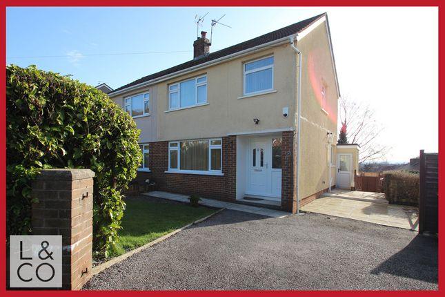 Thumbnail Semi-detached house to rent in Penylan Close, Newport