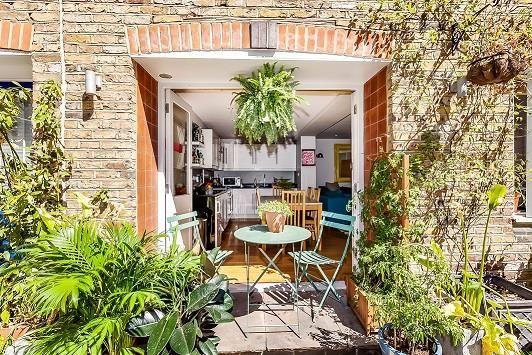 Thumbnail Terraced house to rent in Warren Mews, London