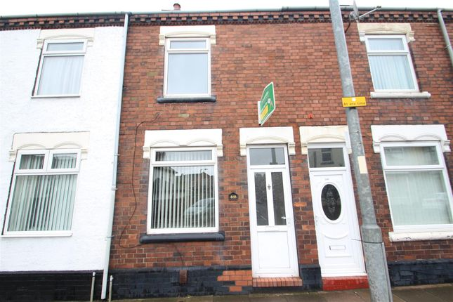 Thumbnail Terraced house to rent in Hartshill Road, Hartshill, Stoke