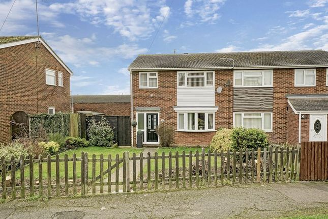 Thumbnail Semi-detached house for sale in Potton Road, Eynesbury, St. Neots
