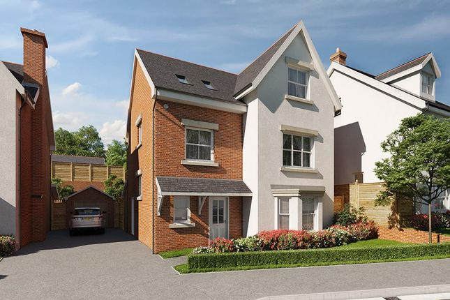 Thumbnail Detached house for sale in Maes Helyg, Vicarage Road, Llangollen