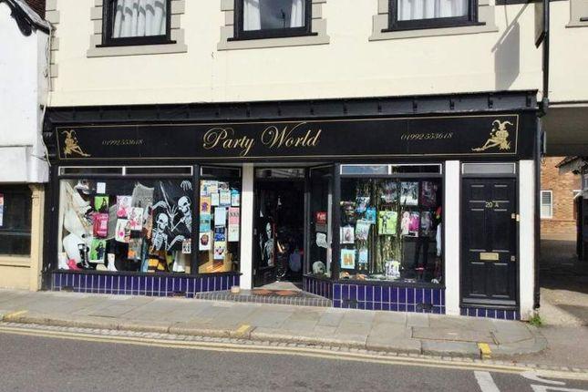 Retail premises for sale in 20 St Andrew Street, Hertford