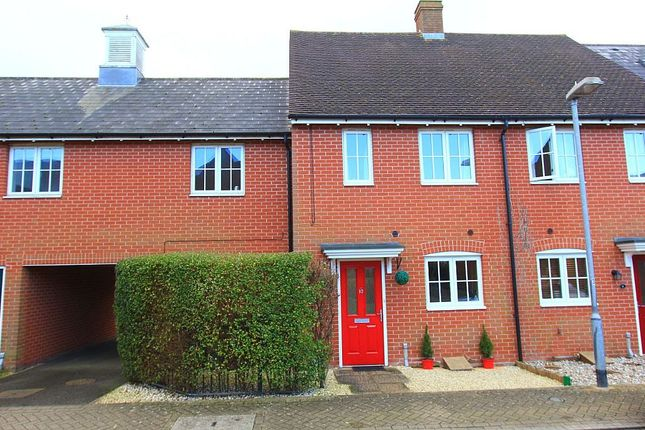 Thumbnail Terraced house for sale in Rose Allen Avenue, Colchester, Essex