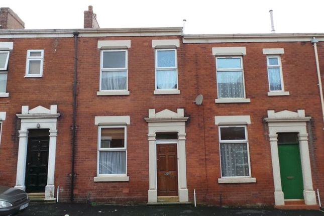Thumbnail 2 bed terraced house for sale in Somerset Road, Deepdale, Preston
