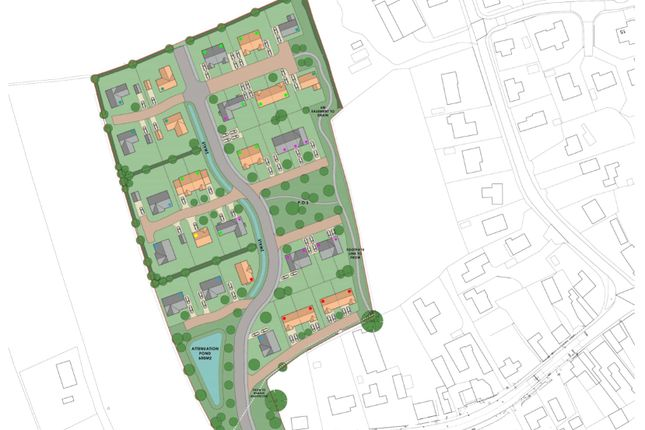Thumbnail Land for sale in Main Street, Mareham Le Fen