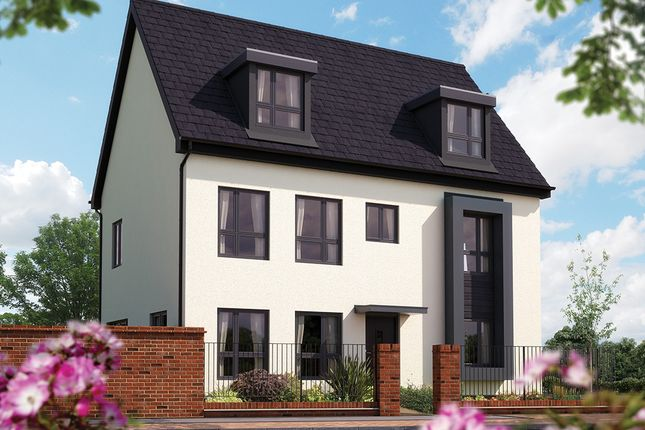 "Thumbnail Detached house for sale in ""The Warwick"" at Barrosa Way, Whitehouse, Milton Keynes"