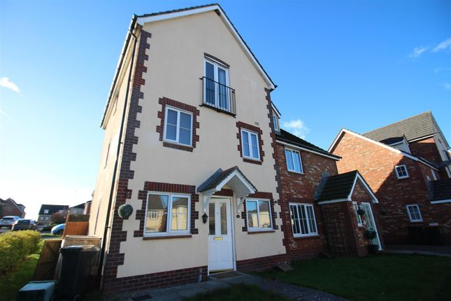 Thumbnail Semi-detached house to rent in Dunraven Drive, Coedkernew, Newport