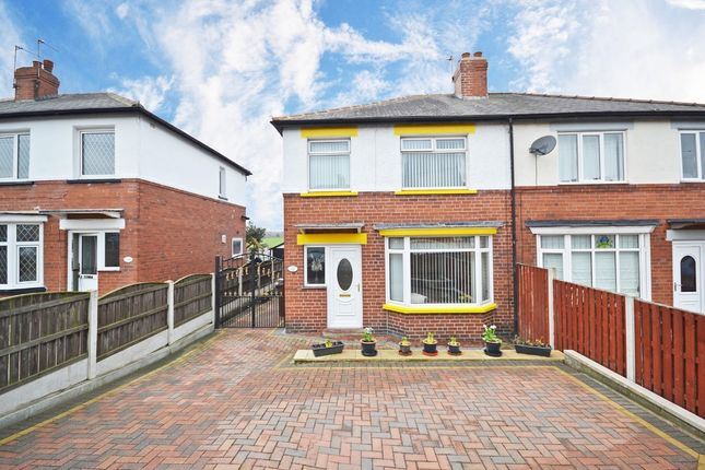 Thumbnail Semi-detached house for sale in Womersley Road, Knottingley