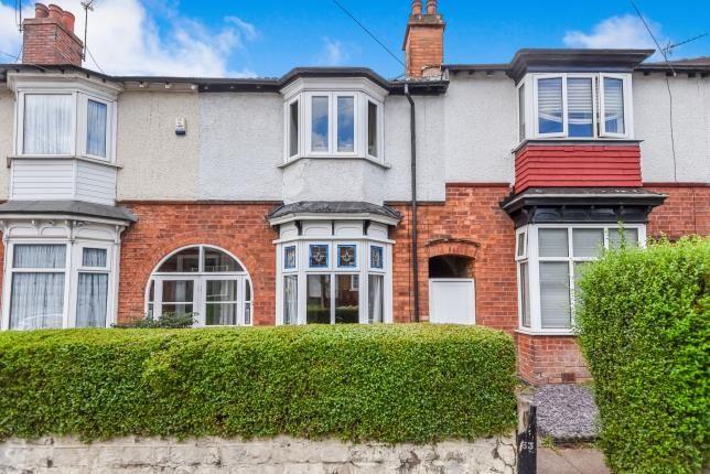 Thumbnail Terraced house for sale in Wood End Lane, Erdington, Birmingham, West Midlands
