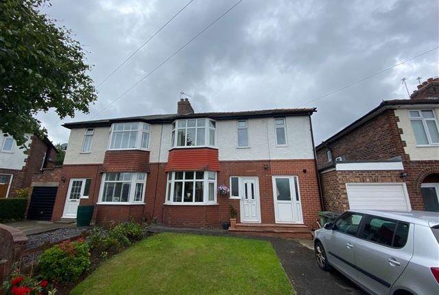 Thumbnail Semi-detached house for sale in Lansdowne Crescent, Carlisle, Cumbria