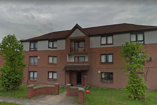 Thumbnail Flat for sale in Columba Crescent, Motherwell