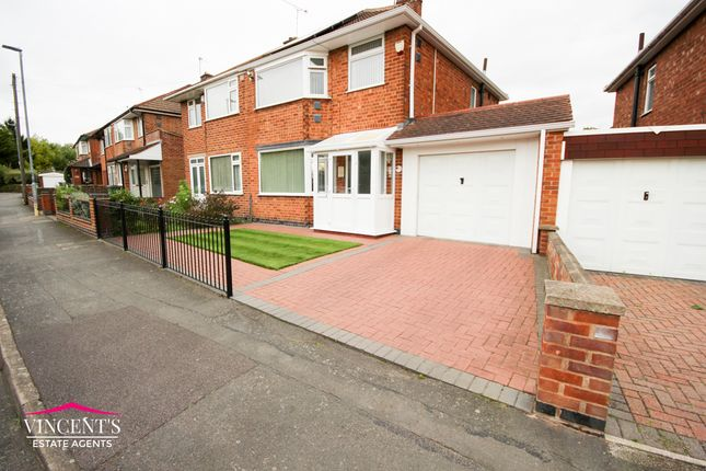 Semi-detached house for sale in Kingsway North, Leicester