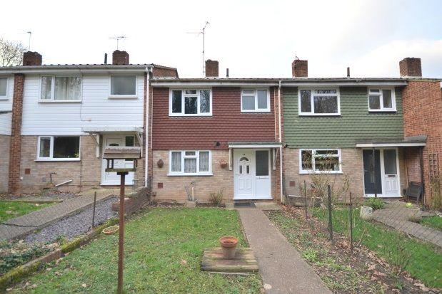 Thumbnail Terraced house to rent in Burnham Walk, Rainham, Gillingham