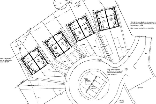Thumbnail Land for sale in Lumsden Place, Stevenston