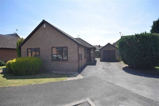 Thumbnail Detached bungalow for sale in Hawthorne Close, Kilburn, Belper