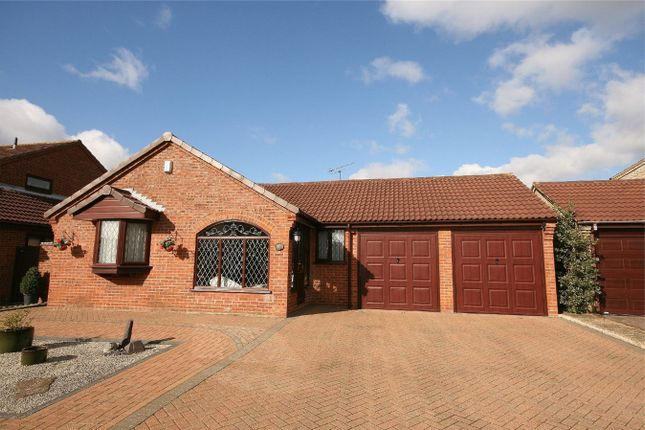 Thumbnail Detached bungalow for sale in Woodpecker Way, East Hunsbury, Northampton