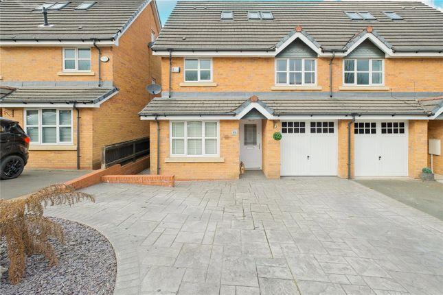 Thumbnail Semi-detached house for sale in Riverside View, Clayton Le Moors, Accrington