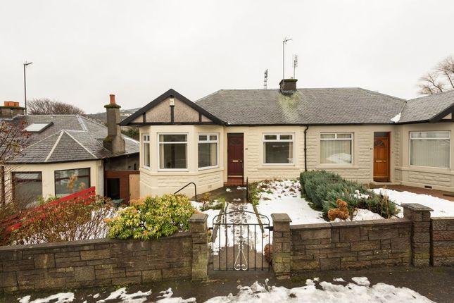Thumbnail Semi-detached bungalow for sale in Marionville Park, Edinburgh