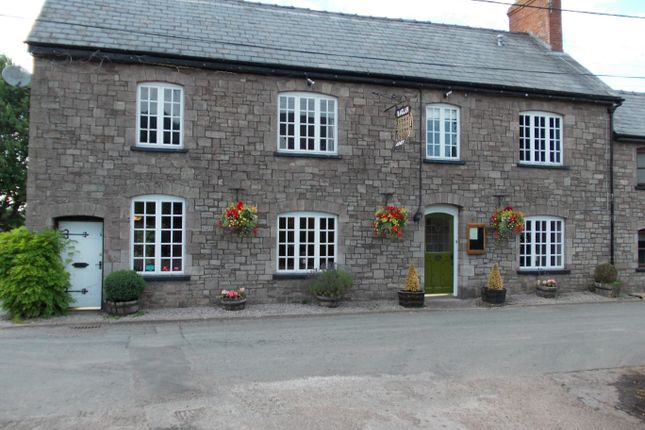 Thumbnail Pub/bar for sale in Llandenny, Monmouthshire: Llandenny