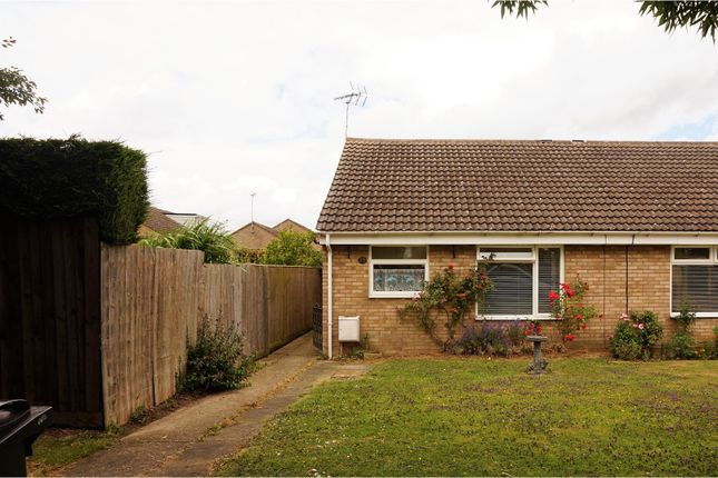 Thumbnail Semi-detached bungalow for sale in Fitzwilliam Road, Stamford