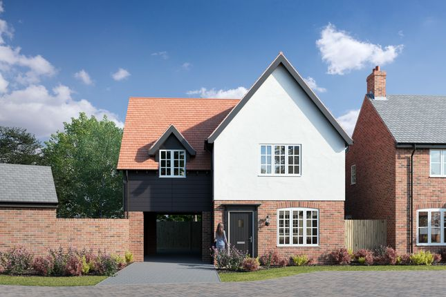 Thumbnail Detached house for sale in Sharpe Close, Carlton, Bedfordshire