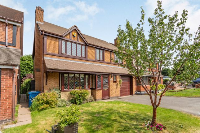 Thumbnail Detached house for sale in Millbrook Drive, Lichfield, Staffordshire