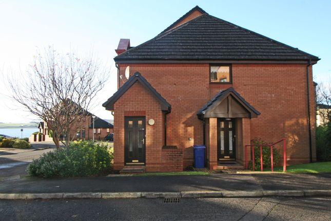 Thumbnail Flat for sale in Curlinghall, Largs