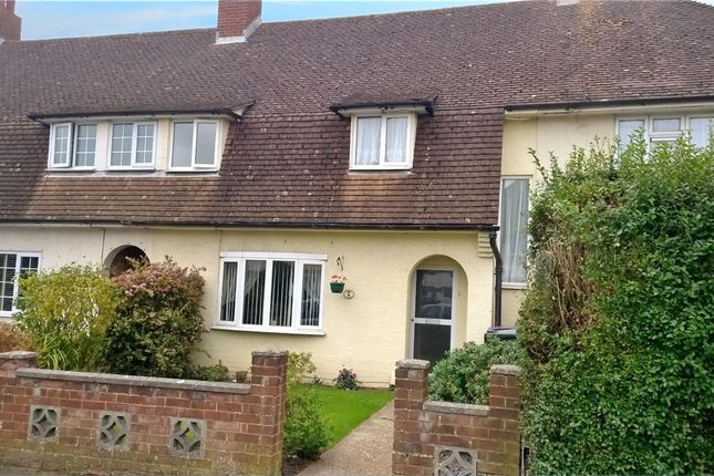 Thumbnail Terraced house for sale in Samian Crescent, Cheriton, Folkestone Kent
