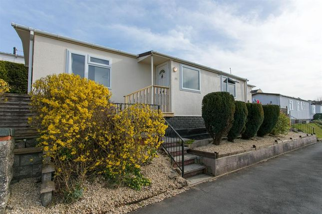 Thumbnail Mobile/park home for sale in Charlcombe Park, Down Road, Portishead