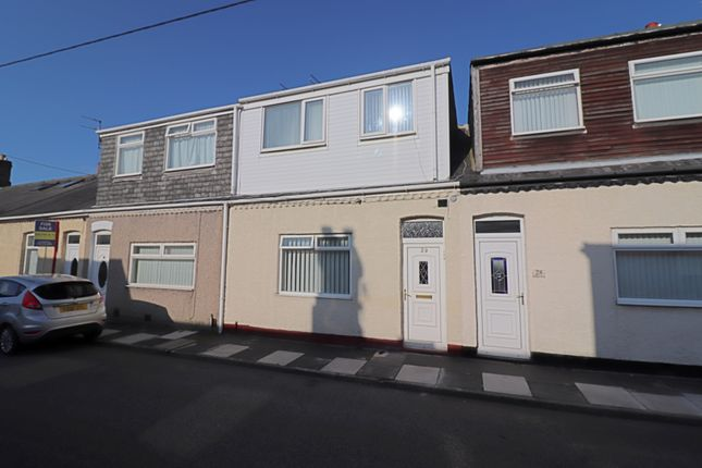 Front of Robert Street, New Silksworth, Sunderland SR3