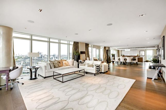 Thumbnail Flat for sale in Ascensis Tower, Battersea Reach, Battersea