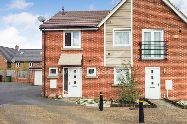 Thumbnail Semi-detached house to rent in Appleton Drive, Basingstoke